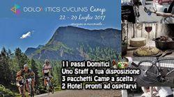 22-29 Luglio: DOLOMITICS CYCLING CAMP E LA SETTIMANA PERFETTA