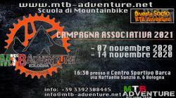 7 e 14 Novembre - Campagna Associativa MTB Adventure Bologna Team