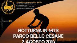 7 Agosto 2016, Notturna in MTB - Parco delle Cesane