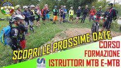 corso Istruttore Mtb E-bike CSI-CONI a settembre/ottobre